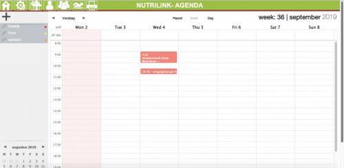 agenda in programma