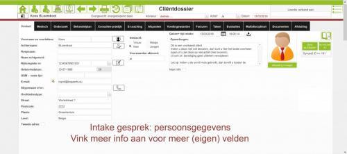 clientdossier persoonsgegevens